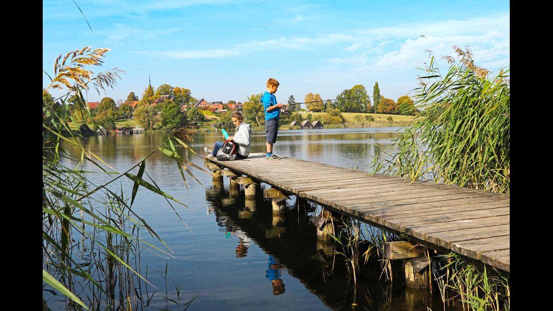 Die Seenplatte ist ein tolles Ziel für Angler.