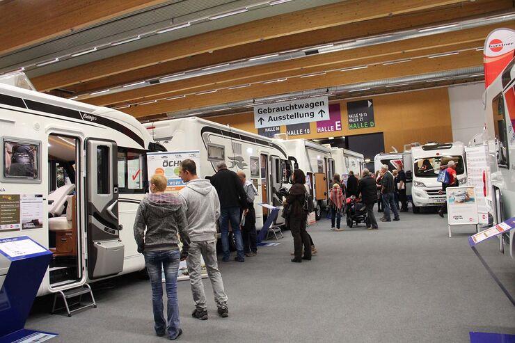 Caravan Salon Austria 2016 auf der Messe Wels - Caravaning