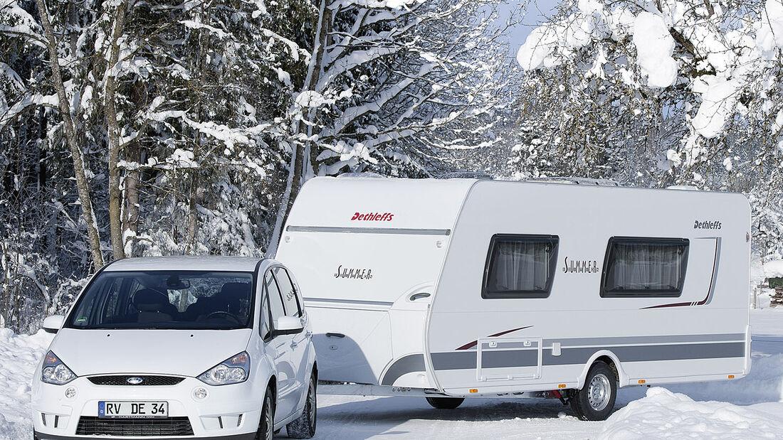 Die drei Summer Edition Caravans überzeugen mit günstigen Preisen und optionalen Summer Edition Paketen.