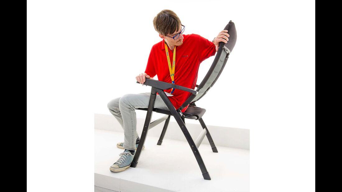 Die gebogenen Beine des Stuhls Dream 3D Bowleg haben nicht nur optischen Effekt.