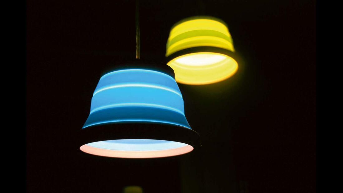 Die kleine Leonis erzeugt weniger Licht als die größere Sargas.