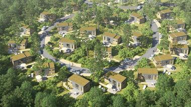 Die neuen Mobile Homes sollen ab Sommer 2014 bezugsfertig sein.