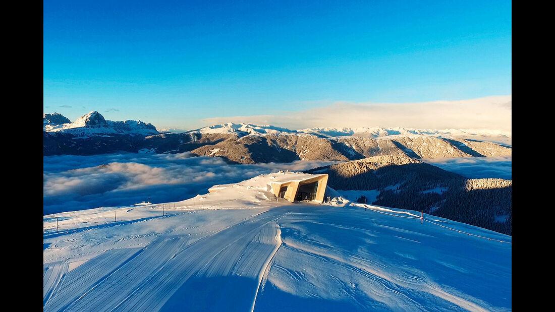 Dolomiten im Winter
