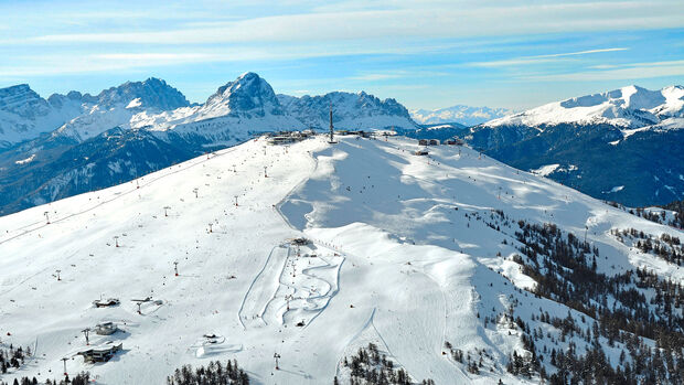 Dolomiten im Winter