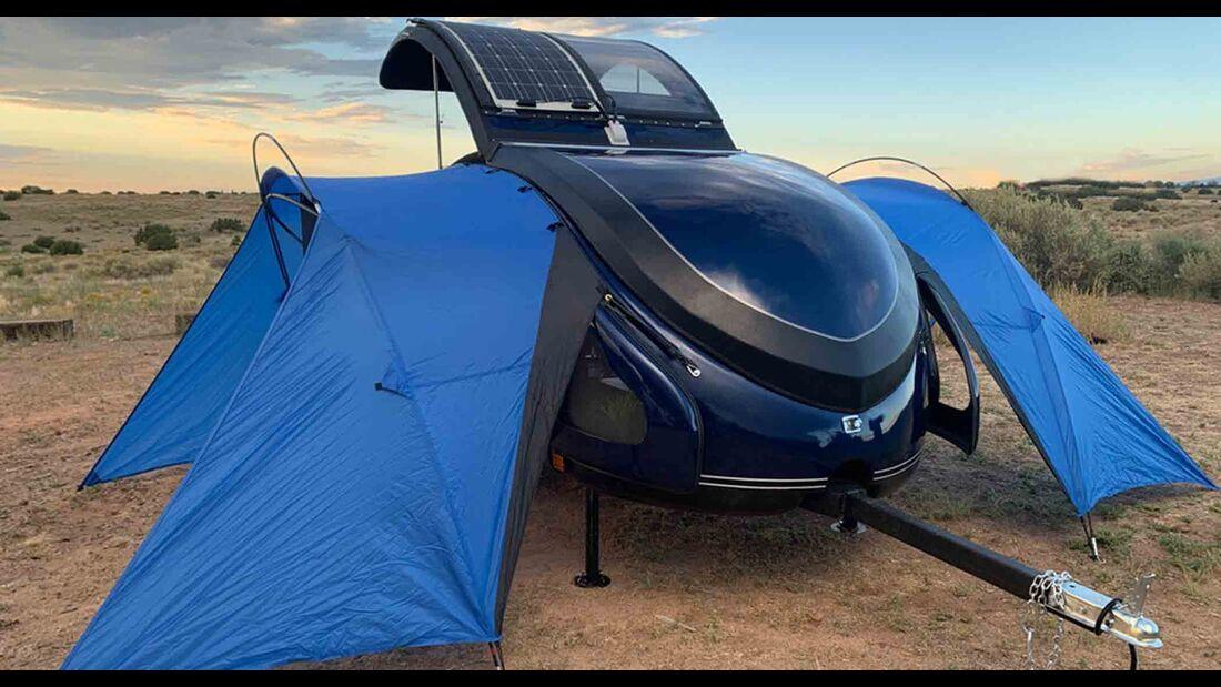 Earth Traveler T300 (2021): Klapp-Teardrop-Caravan ...