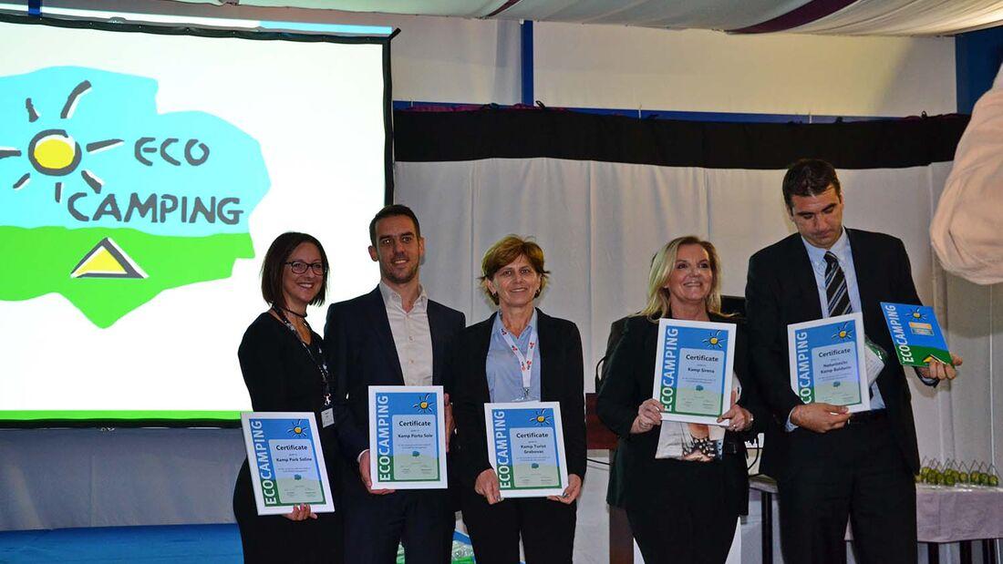 Ecocamping-Auszeichnung für fünf weitere kroatische Campingplätze