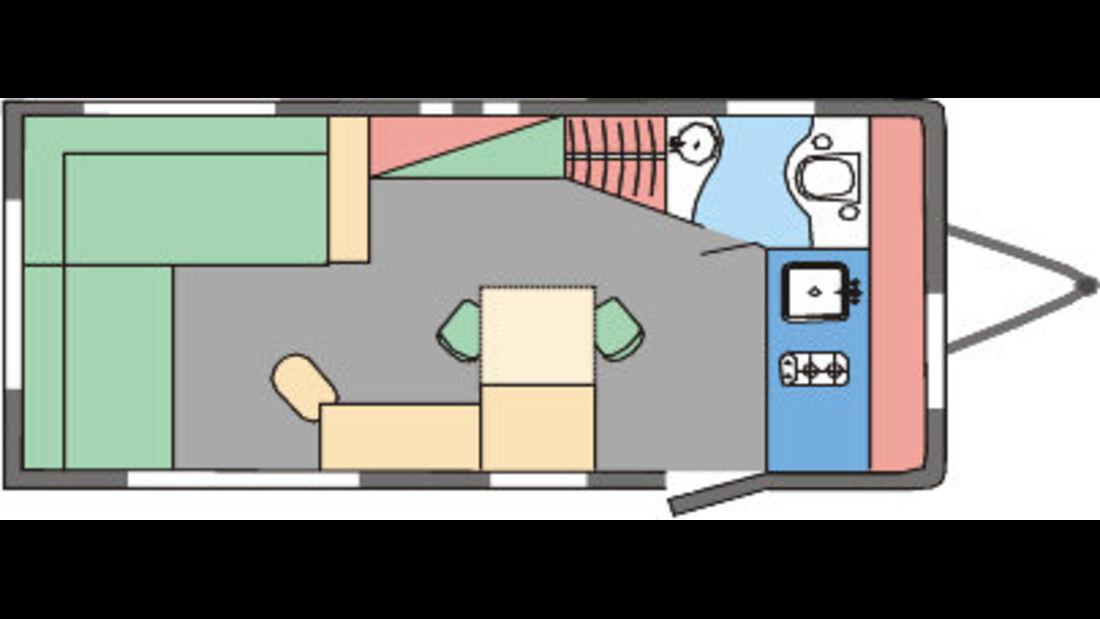 Eifelland Deseo Lifestyle bei www.caravaning.de