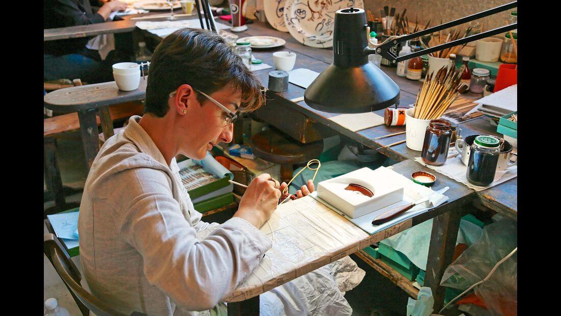 Ein goldenes Zeitalter erlebte das Limousiner Porzellan in den Jahren um die Mitte des 19. Jahrhunderts.