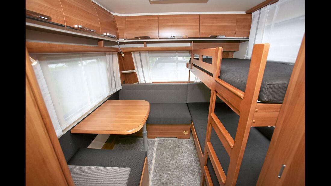 Ein weiterer Familien-Saphir ist der 515 SKE mit großem Kinderzimmer.
