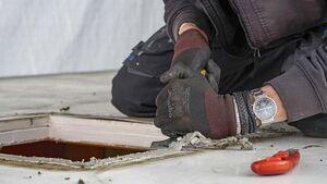 Einbau Dachhaube