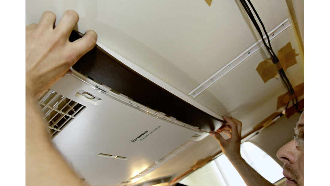 Einbau Klimaanlage