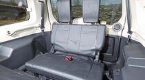 Eine Dachbox hat der Mitsubishi nur nötig, wenn die dritte Sitzreihe den großen Kofferraum belegt