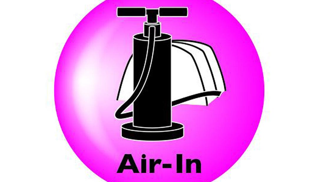 """Eine ganz neue Gestänge-Generation ist in Halle 15, Stand F23 zu sehen. Die """"Air-In""""-Modelle stehen für einen sicheren und einfachen Zeltaufbau."""