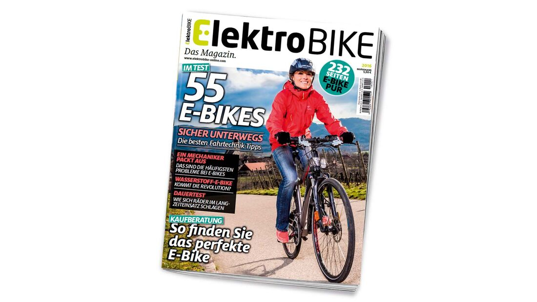 ElektroBIKE Titelseite
