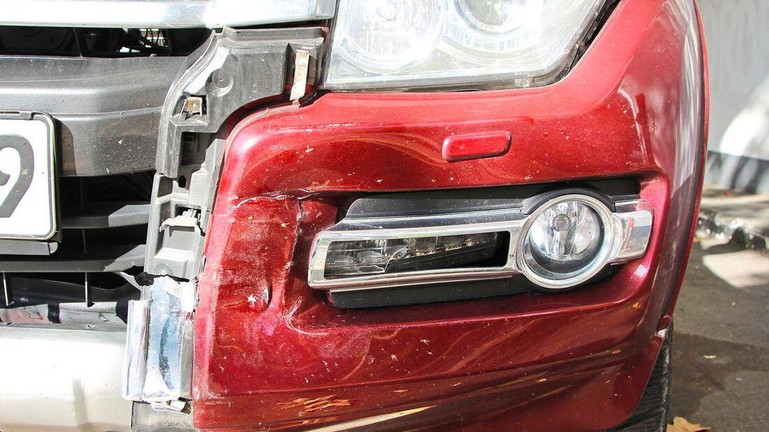 Ende Gelände für den Mitsubishi Pajero