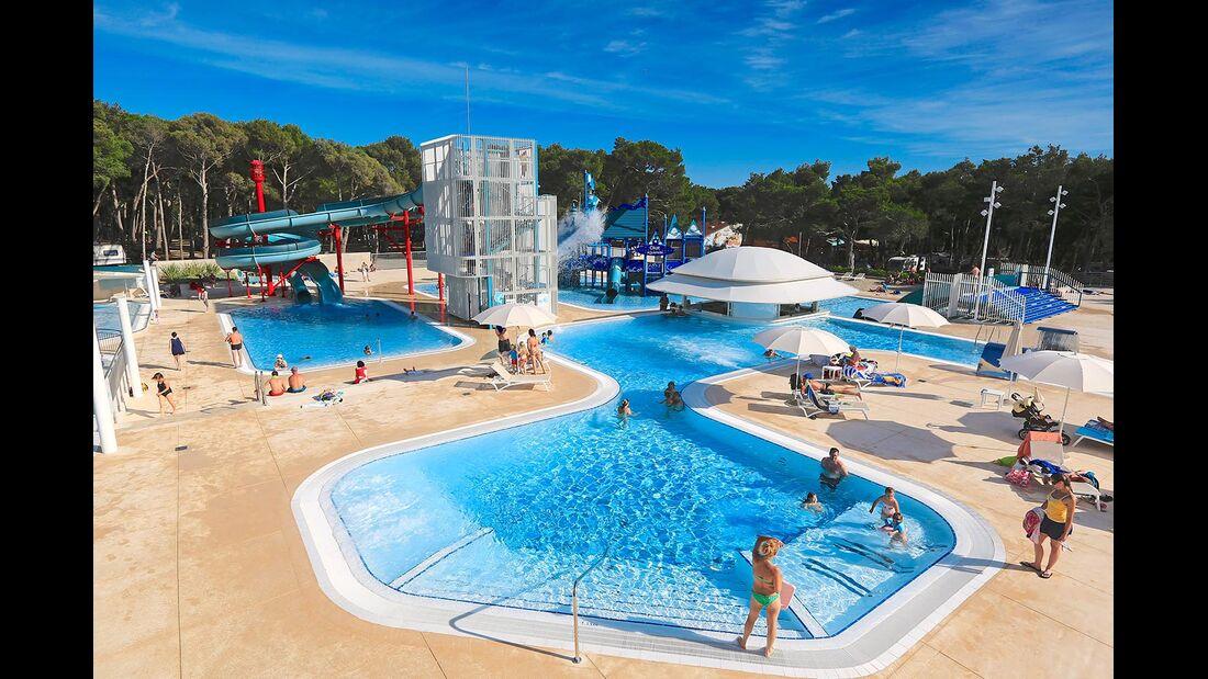 Erlebnisbad Camping Cikat Kroatien Insel Losinj