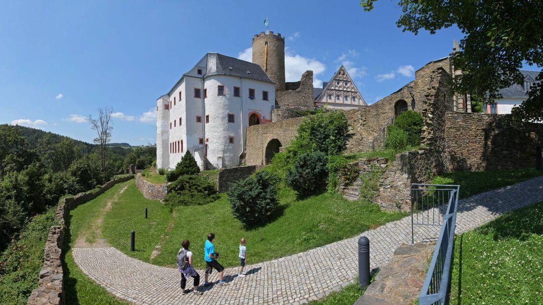 Erzgebirge Burg Scharfenstein