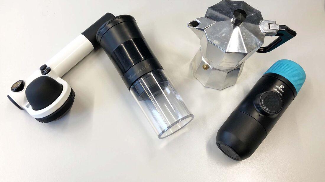 Espressomaschinen Vergleichstest