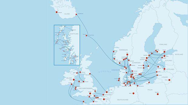 Fähren Nordeuropa