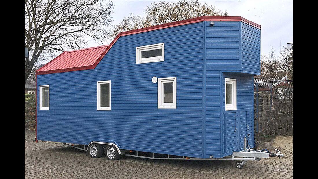 Fahrende Minihäuser