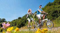 Fahrräder müssen für den Urlaub meist extra versichert werden.