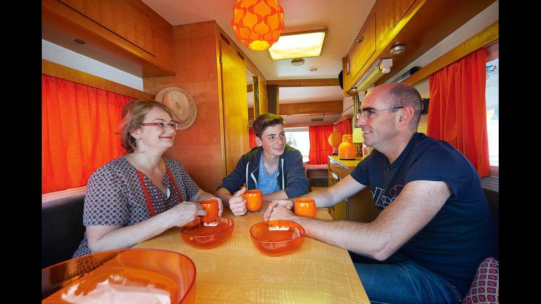 Familie Weidenheimer im Caravan