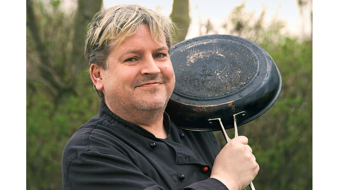 Feine Gerichte aus der Region und aus aller Welt kredenzt Oliver Heun, kreativer Küchenchef im platzeigenen Restaurant Maxwirth.