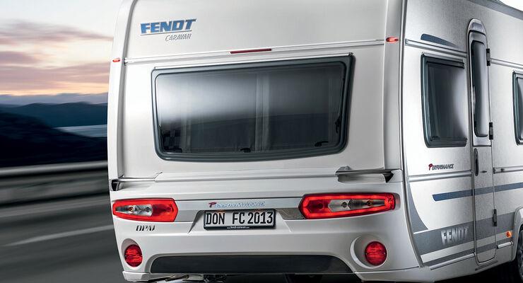 """Fendt ergänzt das Programm der Reisecaravans durch die Modelle """"Opal Performance 465 TG"""" und """"Opal Performance 495 SFB""""."""