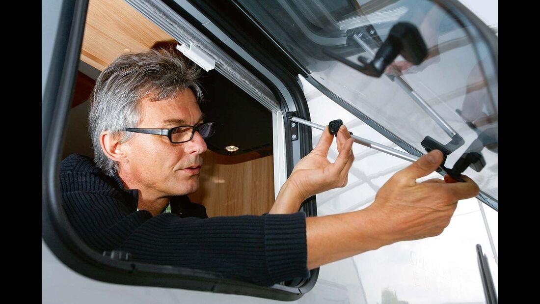 Fenster-Dichtungen und unterliegen normalem Verschleiß.