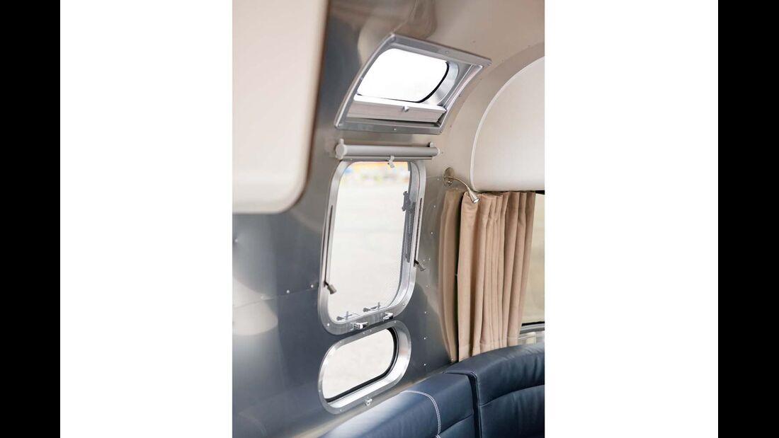 Fenster-Ensemble beim Airstream 684