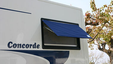 Fenster Zweirad Abdeckung Caravan