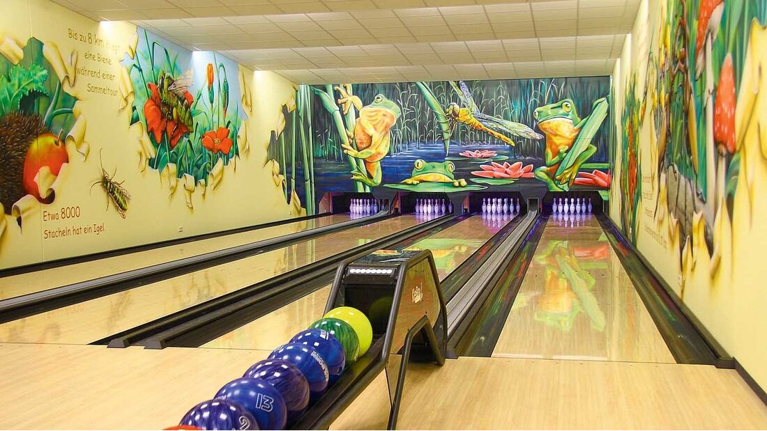 Ferienpark Plötzky Bowlingbahn