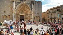 Festival Terra de Trobadors im Castelló d'Empúries.