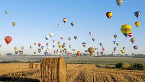 Festival der Heißluftballons
