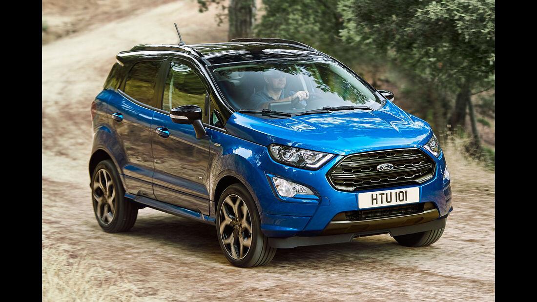 Ford Ecosport Facelift 2017