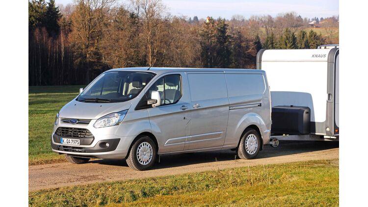 Fordtransit Tourneo Custom Mehr Anhangelast Beim Van Caravaning