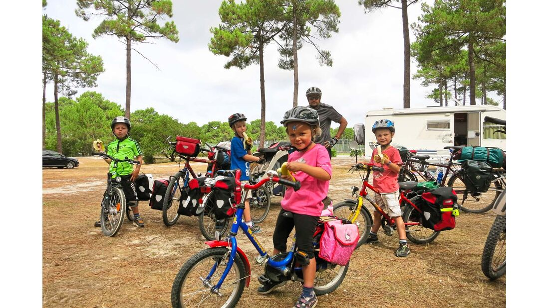 Frankreich Fahrradstrecke Vélodyssée.