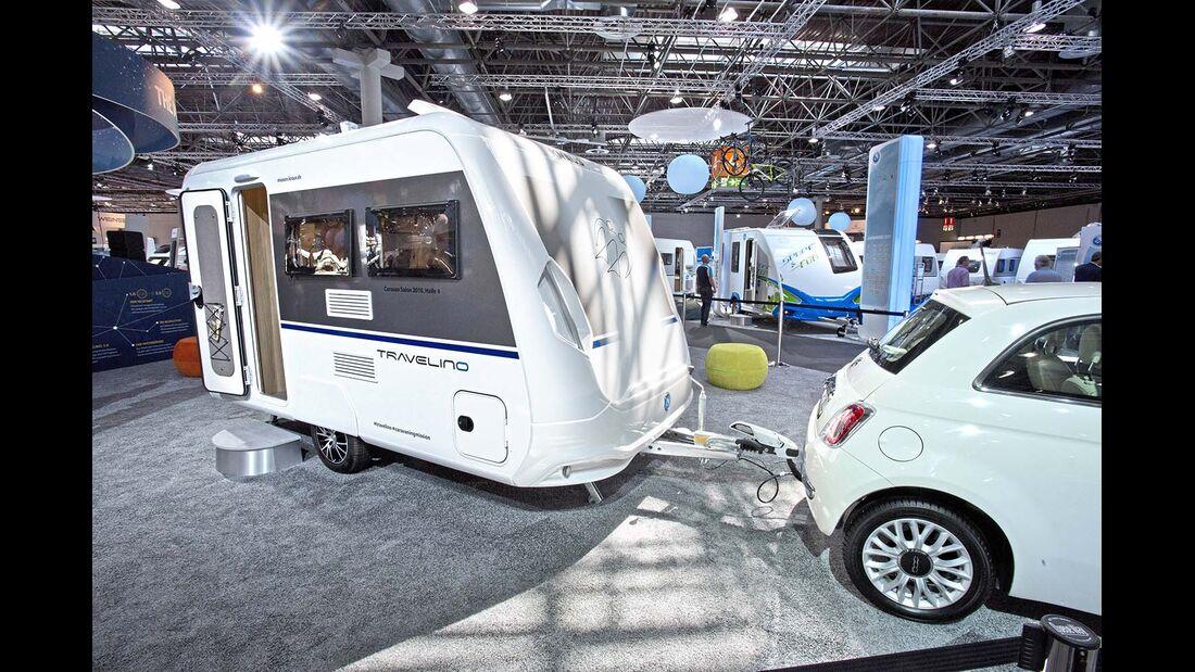 Für den Travelino baut Knaus eine eigene Fertigung mit Robotern.
