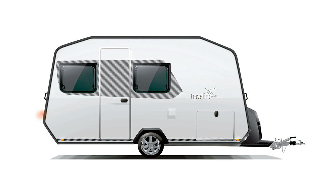 Fuer den Travelino hat Alko ein Chassis entwickelt, das hinter der Achse endet.