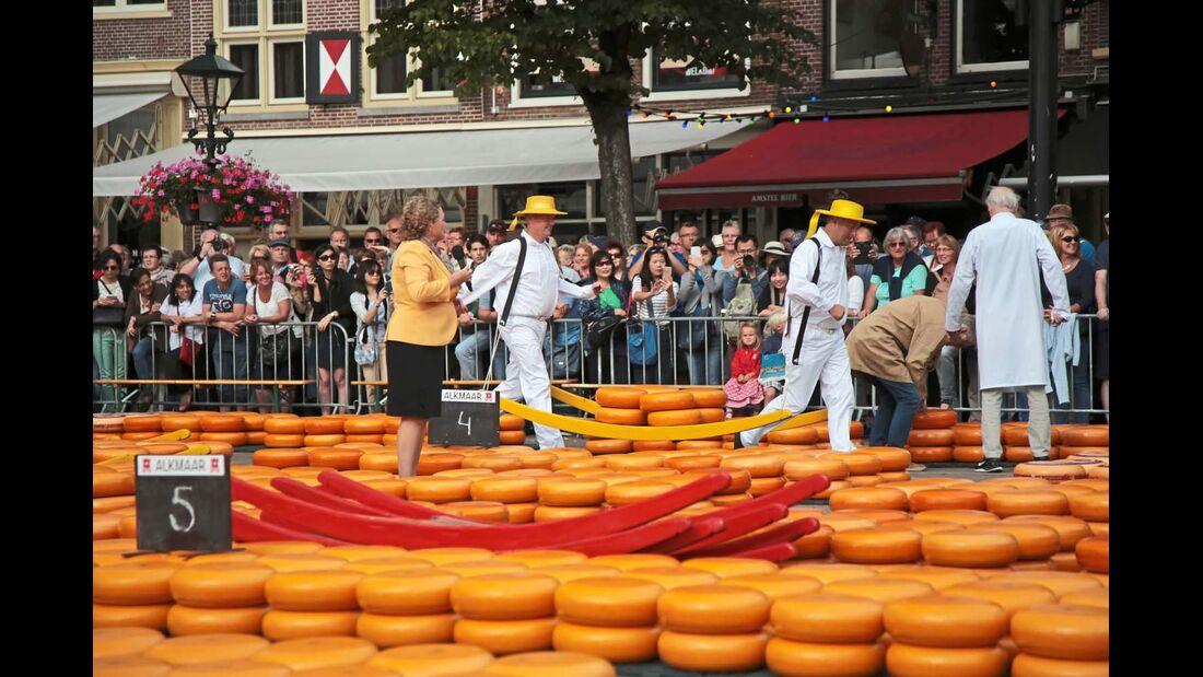 Für ihren Käse sind die Niederlande seit jeher bekannt.