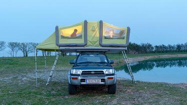 Gentle Tent Sky Loft (2020): Familien Dachzelt mit