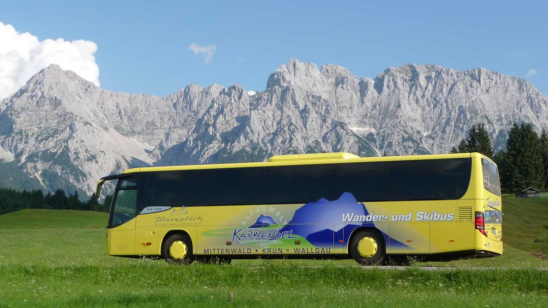 Gästekarte Alpen-Caravanpark Tennsee