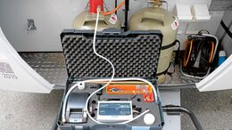Gasprüfung