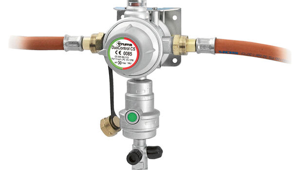 Gasregler mit Sicherheitsabsperrung: Truma Duo-Control CS