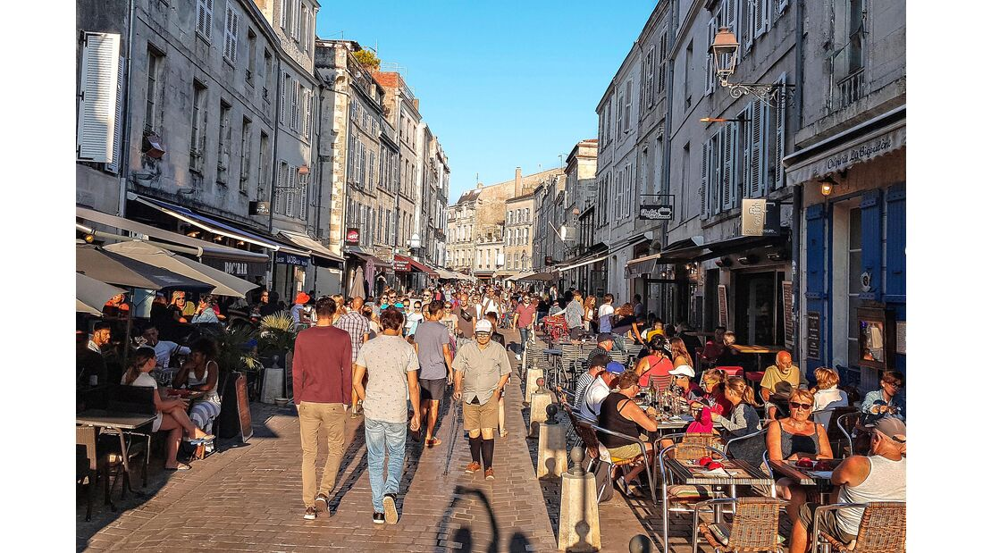 Gasse in La Rochelle