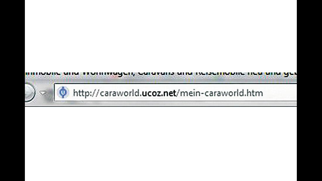 Gefälschte Websites