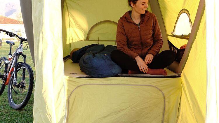 Gentle Tent B Turtle Fahrrad Caravan: Caravan fürs E Bike
