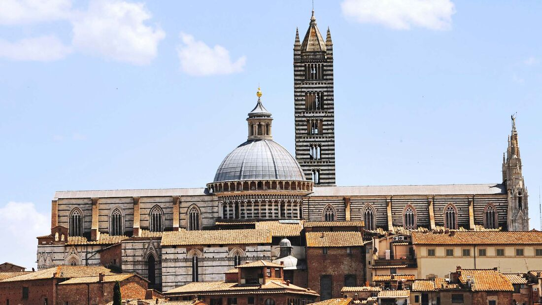 Gotische Dom in Siena