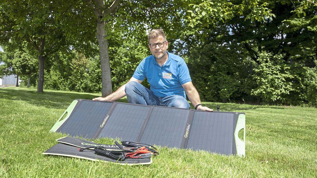 Green Akku Solartasche