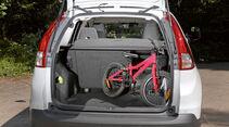 Großer und schnell erweiterbarer Laderaum im Honda CR-V